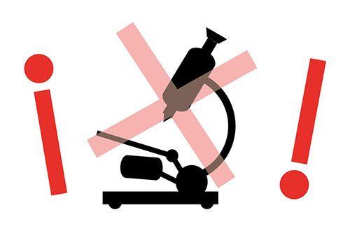 Campaña contra la censura gubernalental de los análisis alimenticios. Change.org.