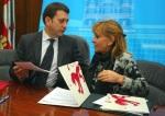 Carlos López Riesco e Isabel Carrasco firman un acuerdo 'ilegal' de financiación del Morredero. 20 dic. 2010. Diariodeleon.es.