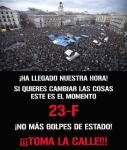 El 15M llama a manifestarse el 23F. 23 febr. 2013.