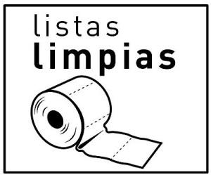 Logo. Campaña 'Listas limpias'. Abril, 2011.