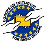 Logo. European Initiative For Basic Income. Tercerainformacion.es.