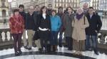 Los miembros de la lista 'Cambiar Navarra'. Norticiasdenavarra.com.