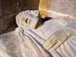 Sarcófago del rey Alfonso IX en la catedral de Santiago de Compostela. Galeon.com.