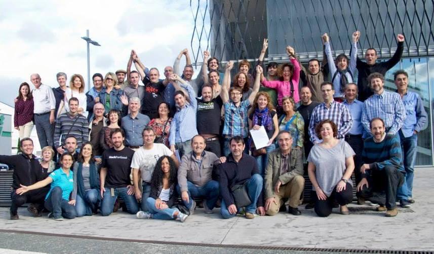 Asamblea del grupo Economía del Bien Común. Vitoria. Oct. 2013. Economia-del-bien-comun.org.