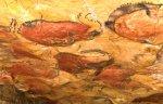 Conjunto de bisontes en la cueva de Altamira. Museodealtamira.mcu.es.