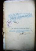 Conmutación de la pena de muerte a prisión mayor de Enrique López Martínez, abuelo de este bloguista. 4 marzo 1938.