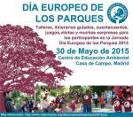 Día Europeo de los Parques. Casa del Campo. Madrid, 30 mayo 2015. Facebook.com.