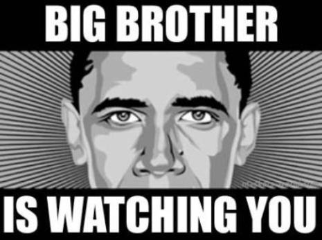 'El Gran Hermano te está mirando'  2013. Foto: Danielestulin.com.