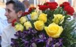 Flores para quienes defendieron un ideal de lealtad y justicia. Valderas, 30 mayo 2015. Diariodeleon.es. Foto: Jesús F. Salvadores.