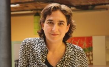 La portavoz de Stop Desahucios, Ada Colau. 27 marzo 2013. Change.org.
