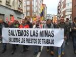 La reivindicación minera. Primero de Mayo. Ponferrada., 1 mayo 2015. Foto: Enrique L. Manzano.