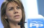 La vicepresidenta del Partido Popular, María Dolores de Cospedal. Fuente: Malvarez.blogspot.com.