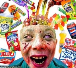 Los padres deberían prestar más atención a lo que comen sus hijos. Fuente: teatrevesadespertar.wordpress.com.