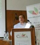 Santiago Castelao en 'Biocastanea 2010'. Ponferrada, 19 nov. 2010. Foto: Enrique L. Manzano.