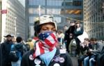 Un indignado de Occupy Wall Street. 1 mayo 2012. Fuente: librered.net.