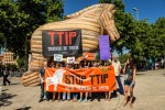 Campaña No al TTIP. Madrid, 2 jun. 2015. Ttipsecret.wordpress.com.
