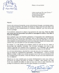 Carta de Brigitte Bardot al rey  Juan Carlos I. Par'is, 18 abril 2012. Vanitatis.elconfidencial.com.