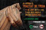 Convocatoria contra el TTIP. Barcelona, 17 jun. 2015. Facebook.com.