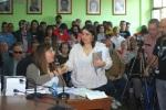 La concejala electa de IU, Susana Vila y líder del partido en Cacabelos. 13 jun. 2015. Elbierzonoticias.es.