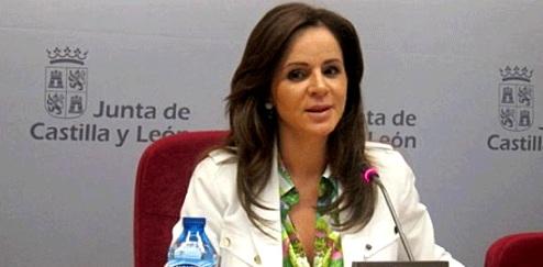 La consejera de Agricultura y Ganadería en la Junta de Castilla y León Silvia Clemente, 2013. Sesondecontrol.com.