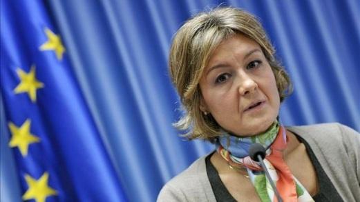 La ministra de Agricultura, Alimentación y Medio Ambiente, Isabel García Tejerina. 2014. Eldiario.es.