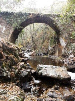 La Puente Grande de Malpaso. Molinaseca, 1 nov. 2011. Foto: Enrique L. Manzano.