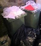 Las trituradoras de papel municipal han trabajado a tope durante los últimos días del bipartito ponferradino. Ponferrada, jun. 2015. Bierzocomarca.eu.