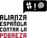 Logo. Alianza Española contra la Pobreza. Unecologistaenelbierzo.wordpress.com.