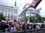 Manifestación contra el hambre en Madrid. 24 oct. 2010. Canalsolidario.com.