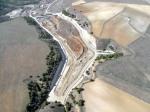 Vista aérea del vertedero de Santovenia de Pisuerga (Valladolidd). Residuosprofesional.com. Foto: Sertego.