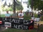 Protesta contra la ley Mordaza. Ponferrada, 30 jun. 2015. Foto: Enrique L. Manzano.