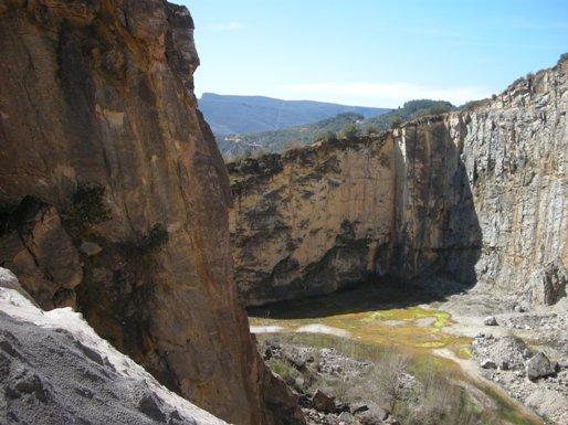 La Cantera 'La Estella', de Martínez Núñez. San Juan de Paluezas (El Bierzo). 8 abril 2010. Foto: Enrique L. Manzano.