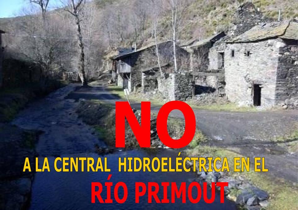 ¡No a la central hidroeléctrica en el río Primout!. Agosto 2015.
