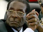 El presidente de Zimbabue, Robert Mugabe. 2015. Dailystormer.