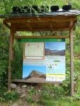 Información sobre la ruta del Catoute. 2010. Foto: Manuel Cuenya.