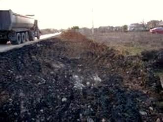 La avenida del pantano presenta graves deficiencias según Tomás Ramos. 2010.