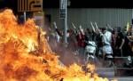 La Huelga General del 29M se saldó con importantes disturbios provocados por grupos incontrolados. Barcelona, 29 marzo 2012. 20minutos.es.