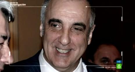 Victorino Alonso en una imagen del reportaje de La-Sexta 'El magnate insolvente'. 7 jun. 2013. Lasexta.com.