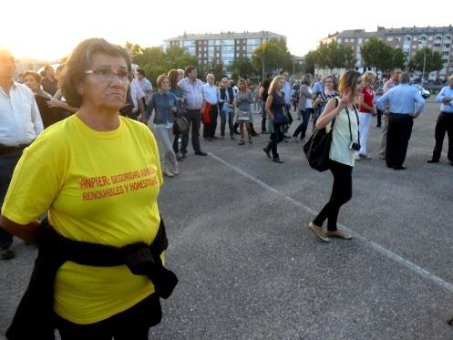 Protesta de Anpier en Ponferrada.  24 sept. 2015. Foto: Enrique L. Manzano.