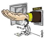 Bankia pide después de despilfarrar con su mala gestión el dinero de sus accionistas. Ciberculturalia.blogspot.com.