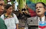 Campaña contra la petrolera Chrevron en el Amazonas ecuatoriano. Avaaz.org.