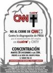 Convocatoria de protesta contra la disolución de Prisa. Madrid, 28 dic. 2010. Facebook.com.