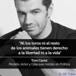 Declaraciones inaceptables del político Toni Cantó, entonces en UPyD y posteriormente en Ciudadanos.