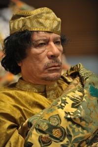 El líder libio Muammar al Gaddafi. Wikipedia.org.