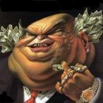 La imagen pública de los banqueros está hoy muy desprestigiada. Entrandoenlamadriguera.blogspot.com.es.
