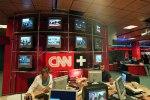 La redacción central de CNN+. Madrid, 27 dic. 2010. Elpais.com. Foto Raúl Cancio.