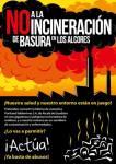Logo. 'No a la incineración de basuras en Los Alcores'. 2015. Alwadi-ira.es.