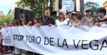 Manifestación contra el Toro de la Vega. Madrd, 12 sept. 2015. Eldiario.es.