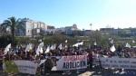 Manifestación contra la tauromaquia.