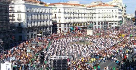 'Rompe una lanza' contra el Toro de la Vega. Madrid, 12 sept. 2015. Publico.es.